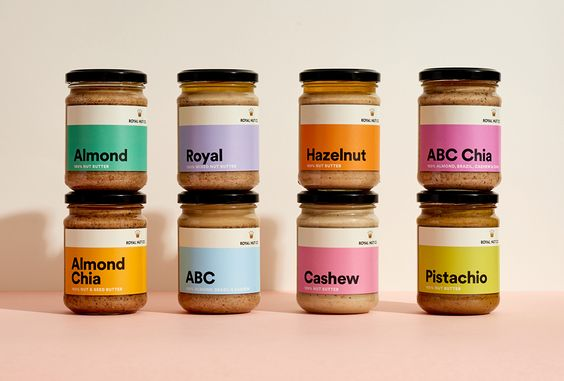Royal Nut Butter Packaging