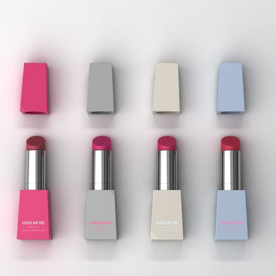 Aschen and Voss Lipstick Packaging