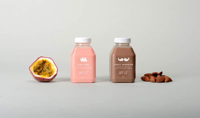 Jucy Lu Juice Packaging
