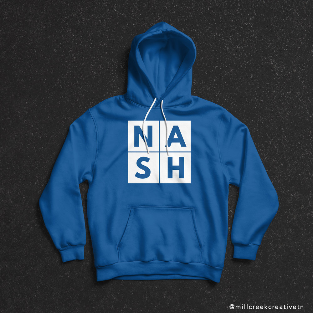 NASH Hoodie by Mill Creek Creative