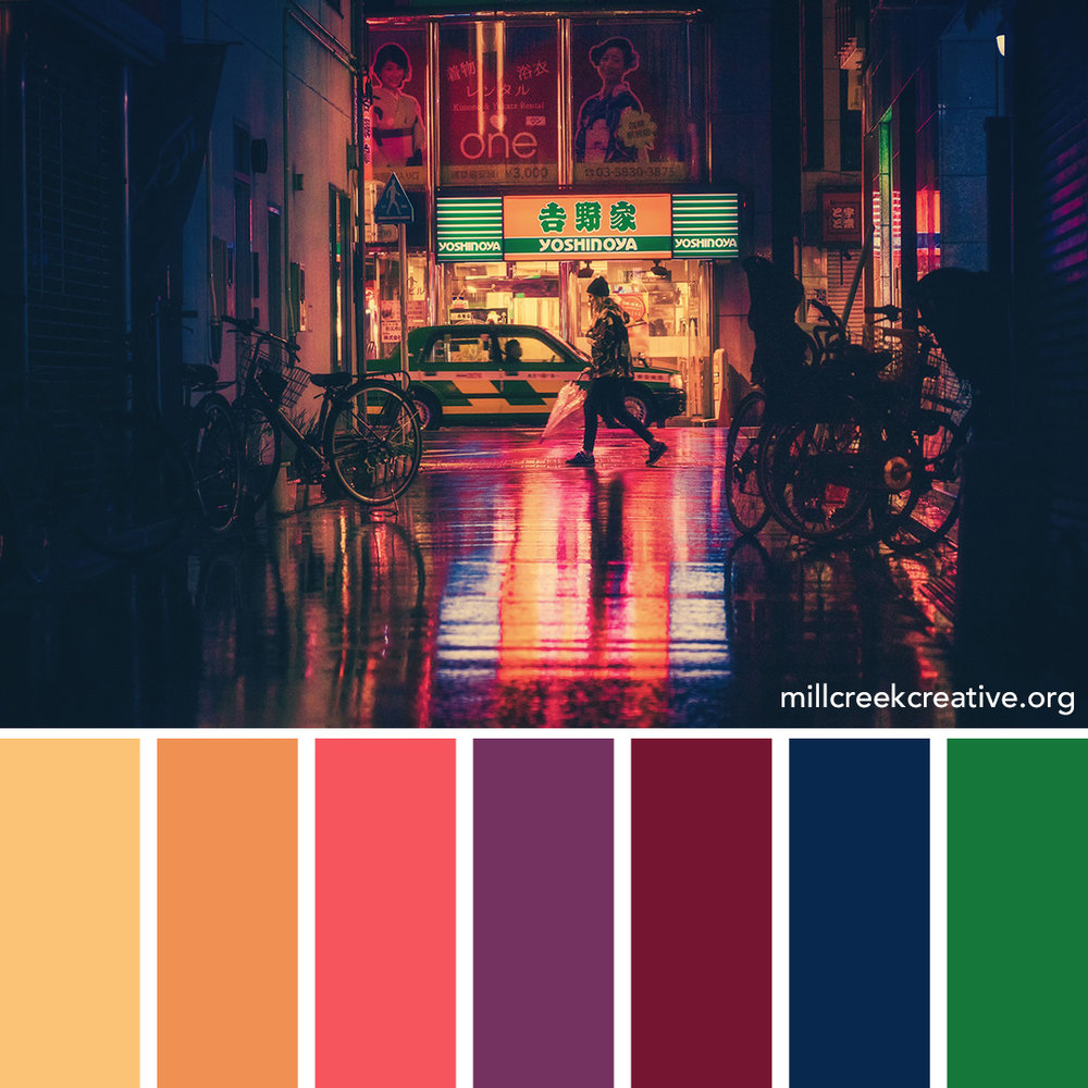 Osaka Color Palette