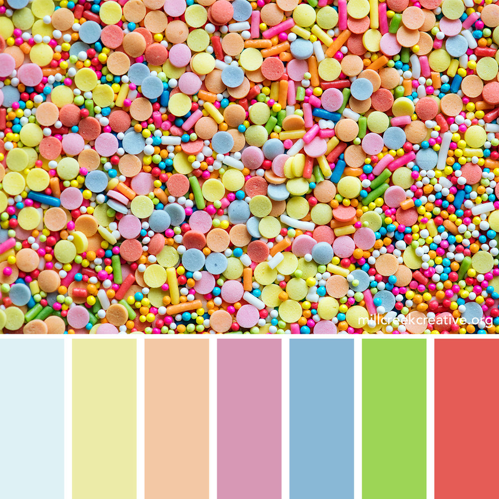 Sprinkles Color Palette