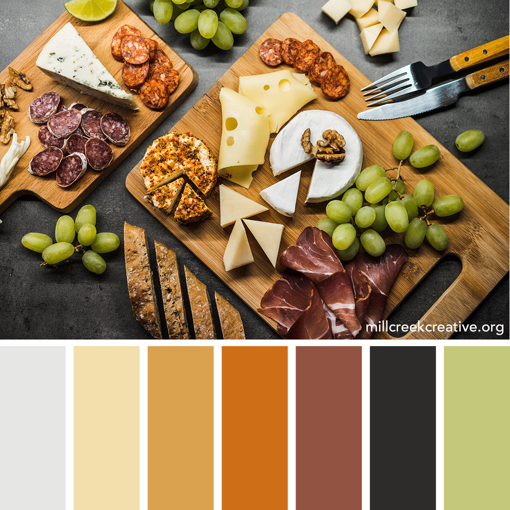 Charcuterie Color Palette