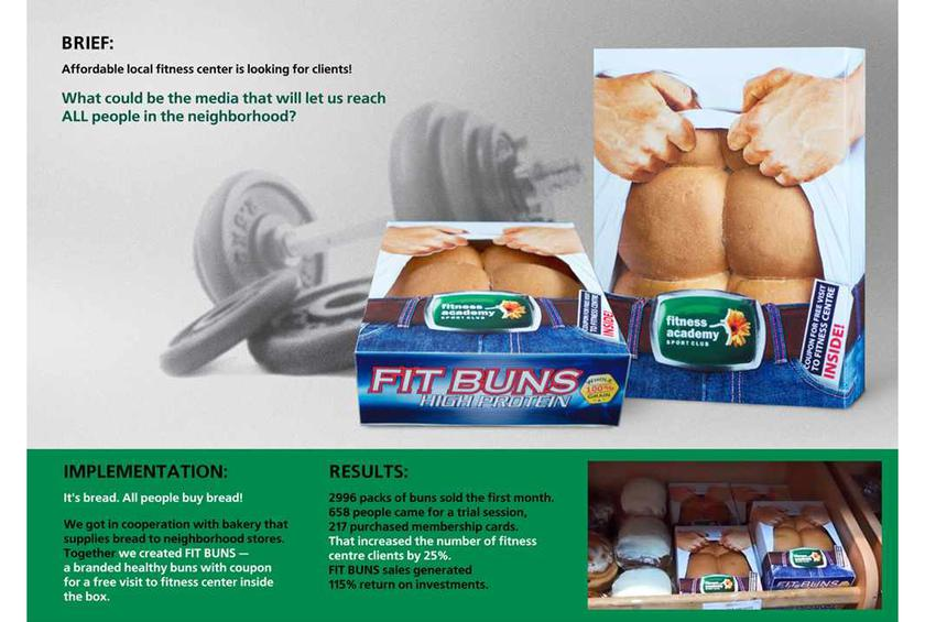 FIt Buns Packaging by MEX