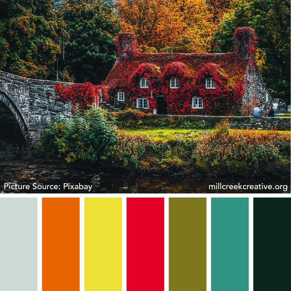 Autumn Cottage Color Palette