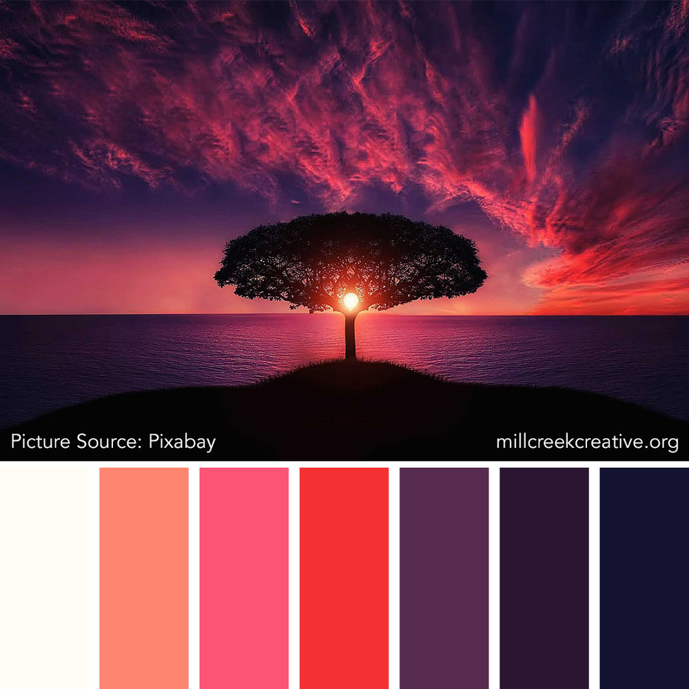 Moon Tree Color Palette | Mill Creek Creative