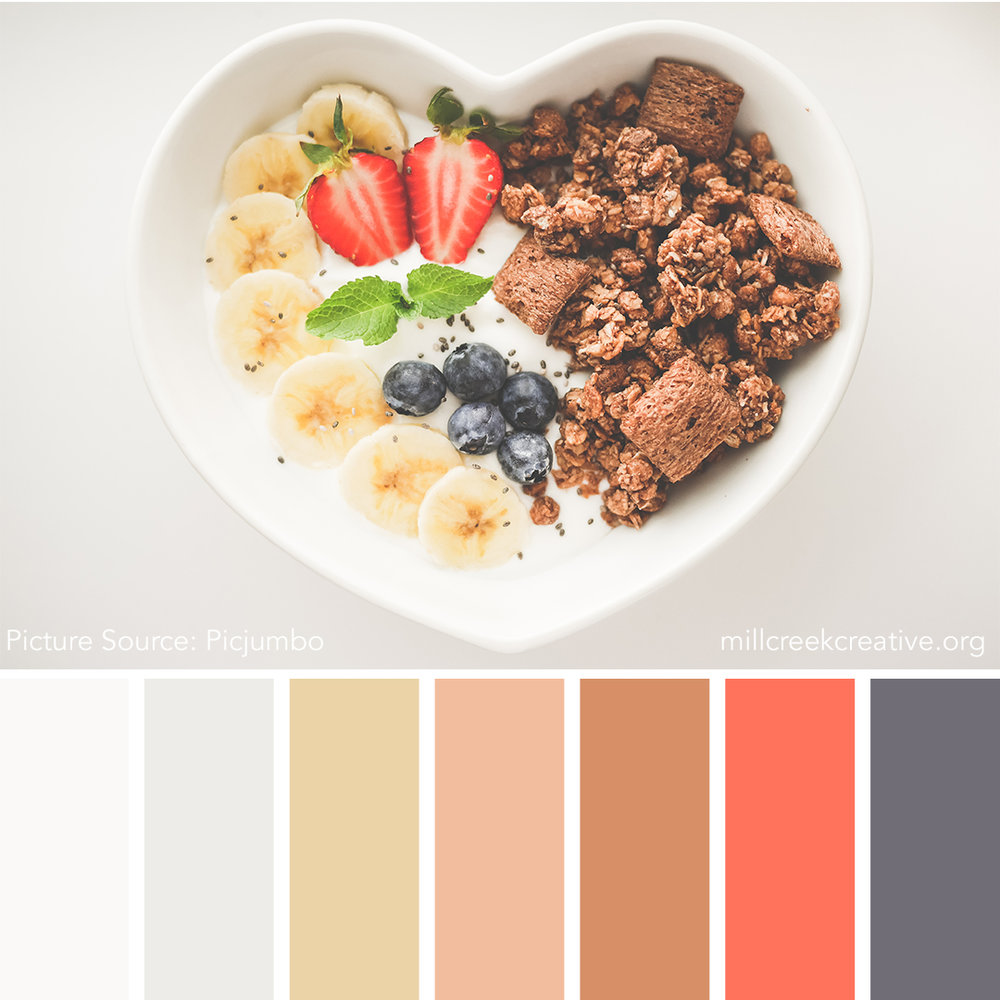 Heart Healthy Color Palette | Mill Creek Creative
