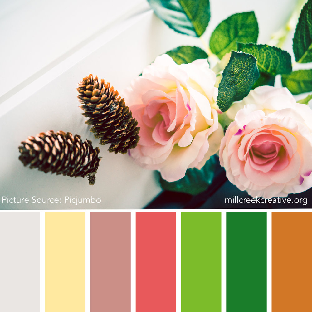 Sweet Autumn Color Palette | Mill Creek Creative