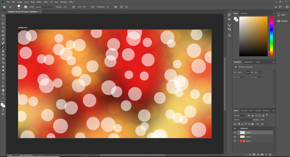 Bokeh Photoshop Tutorial | Mill Creek Creative