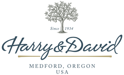 Harry and David Logo | Mature Logo Example | Mill Creek Creative