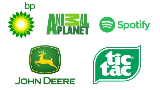 Famous Green Logos