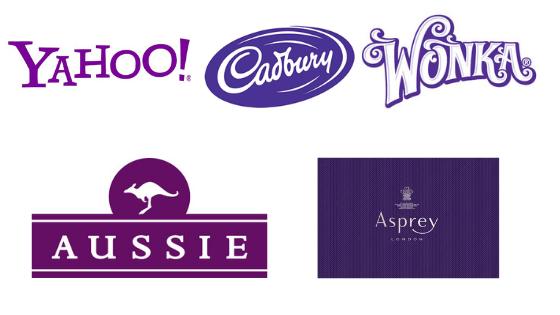 Famous Purple Logos