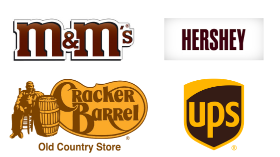 Famous Brown Logos