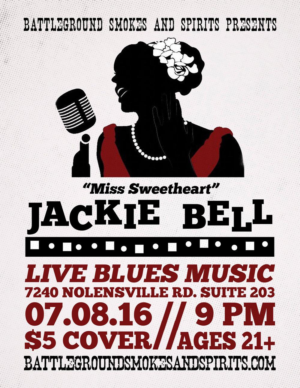 Blues Night Concert Flyer
