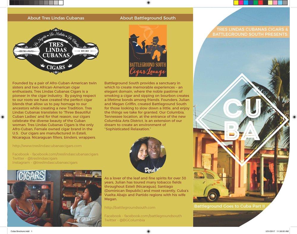 Travel Itinerary Brochure