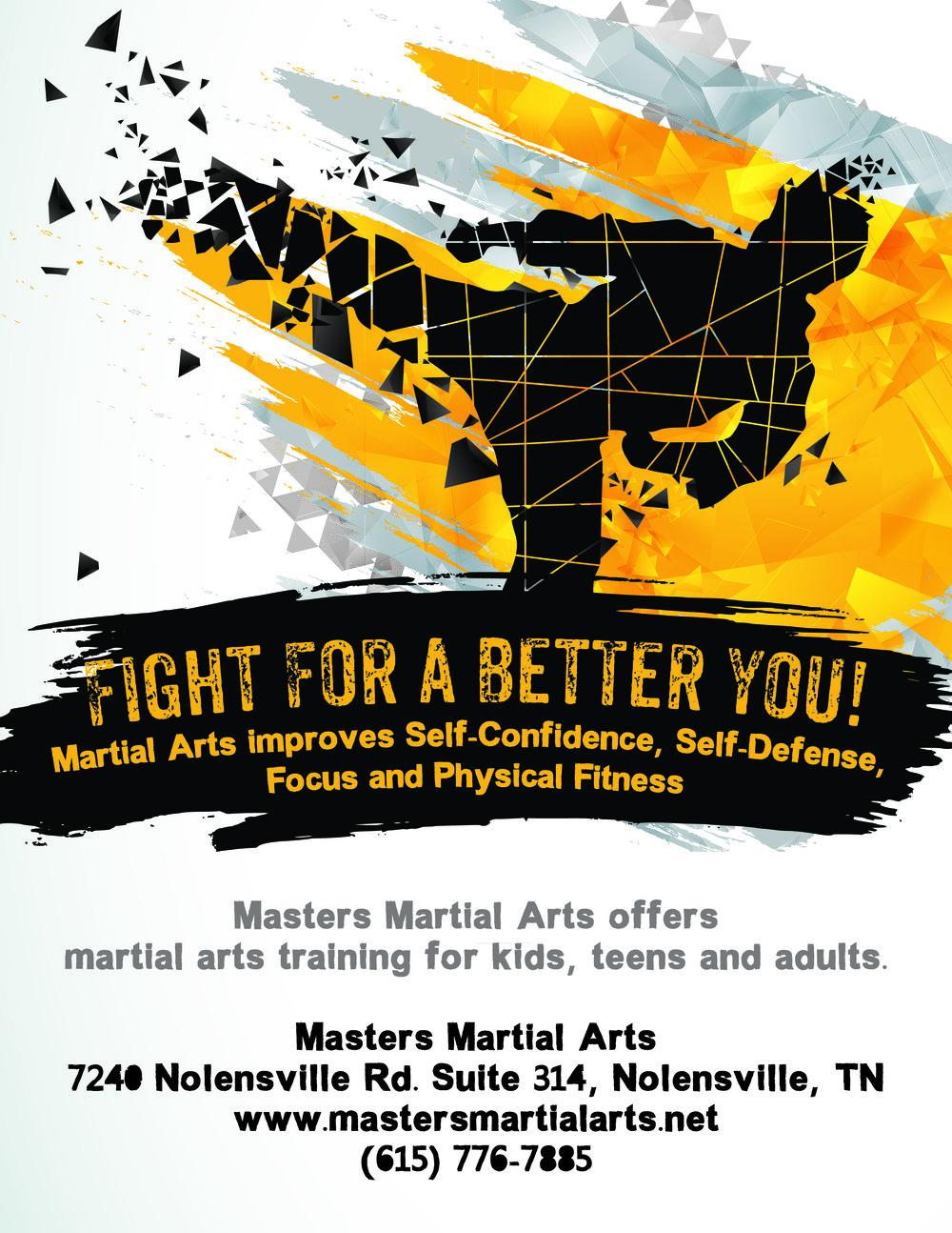 Martial Arts Print Ad