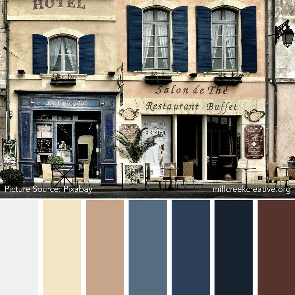 French Street Color Palette | Mill Creek Creative