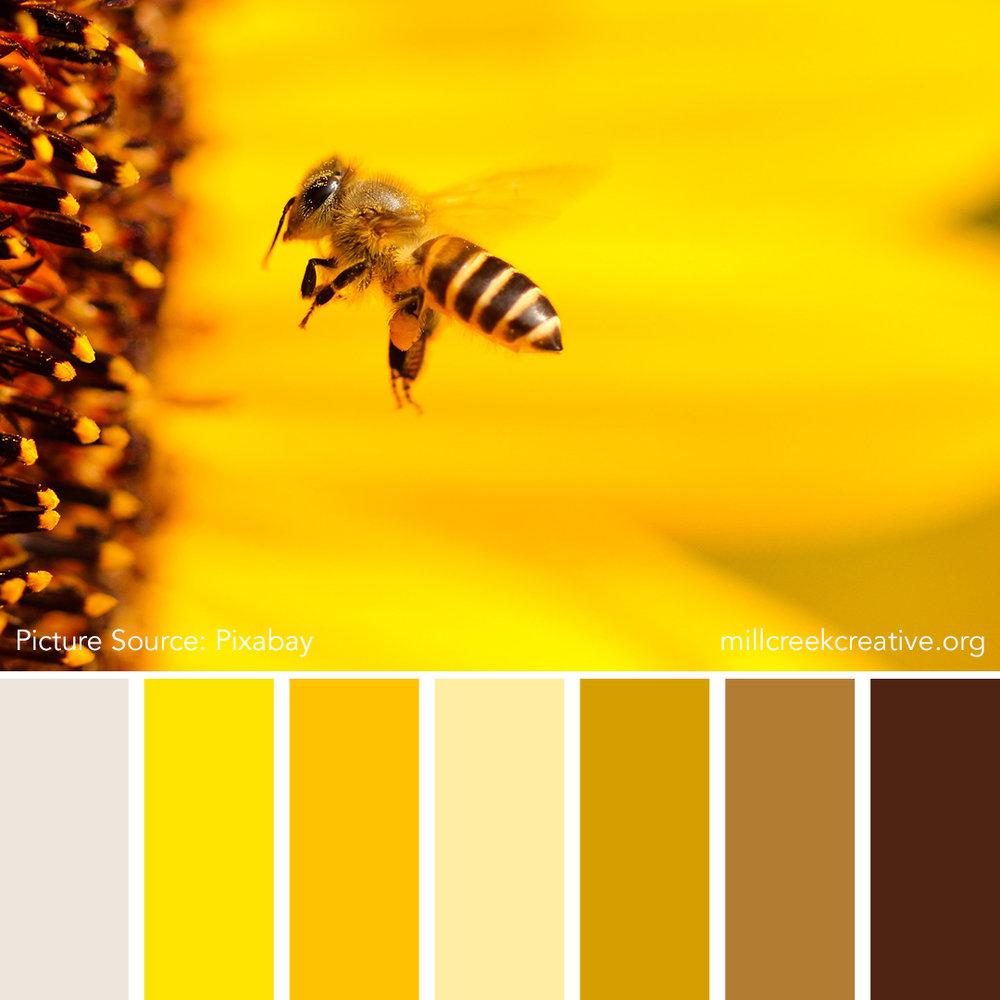 Bee Mine - Spring Color Palette