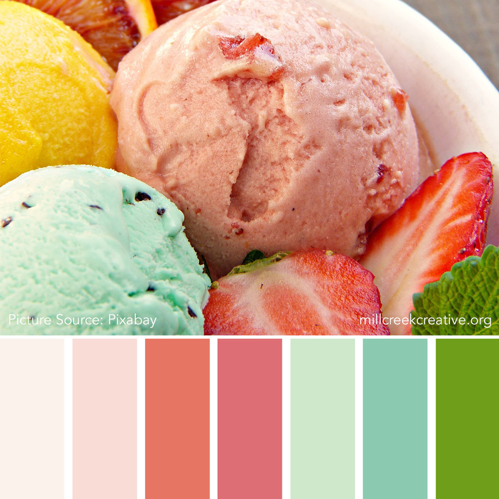Big Bowl of Yummy - Spring Color Palette