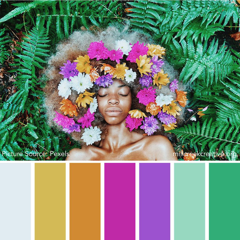 Black Girl Magic - Spring Color Palette