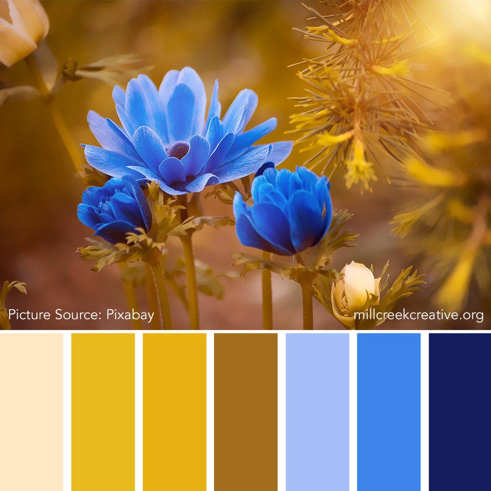 Golden Spring - Spring Color Palette