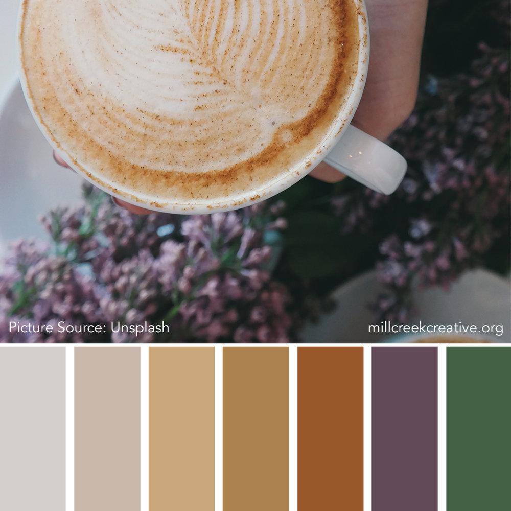 I Love Spring A Latte - Spring Color Palette
