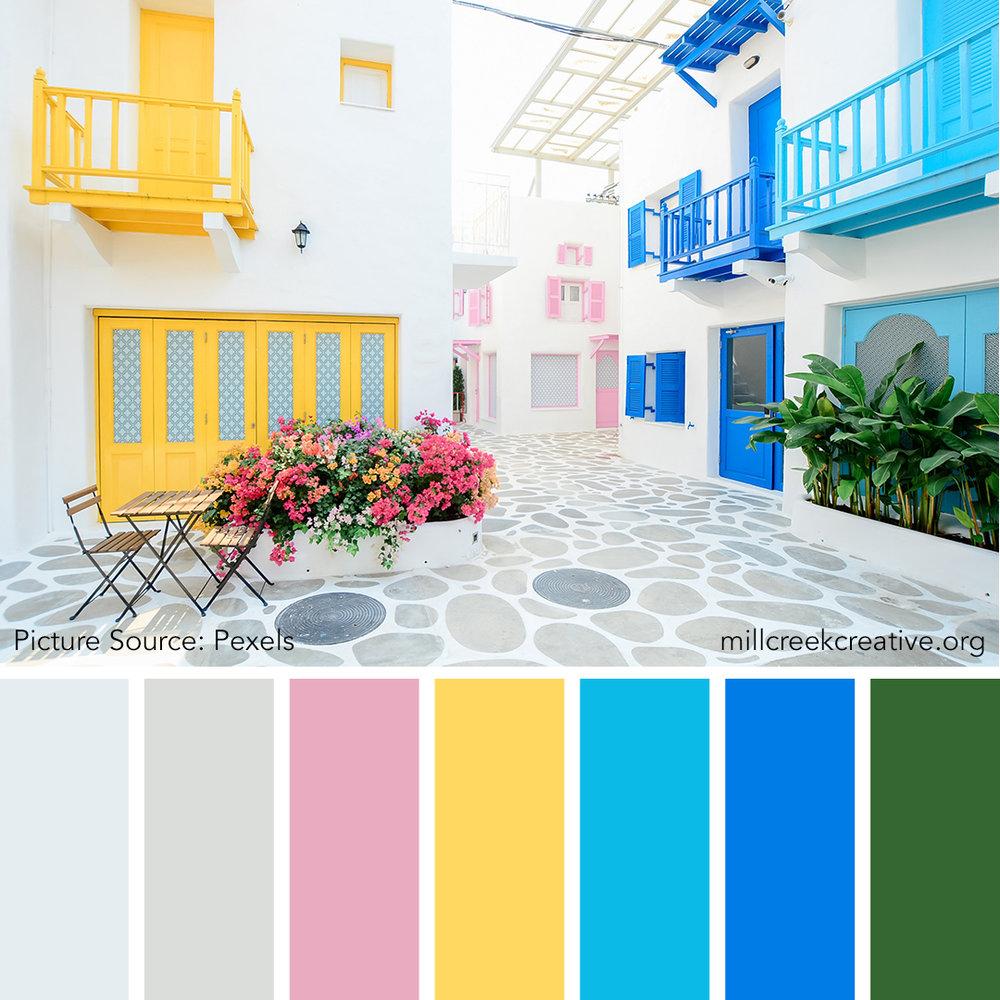 La Villa En Rose - Spring Color Palette