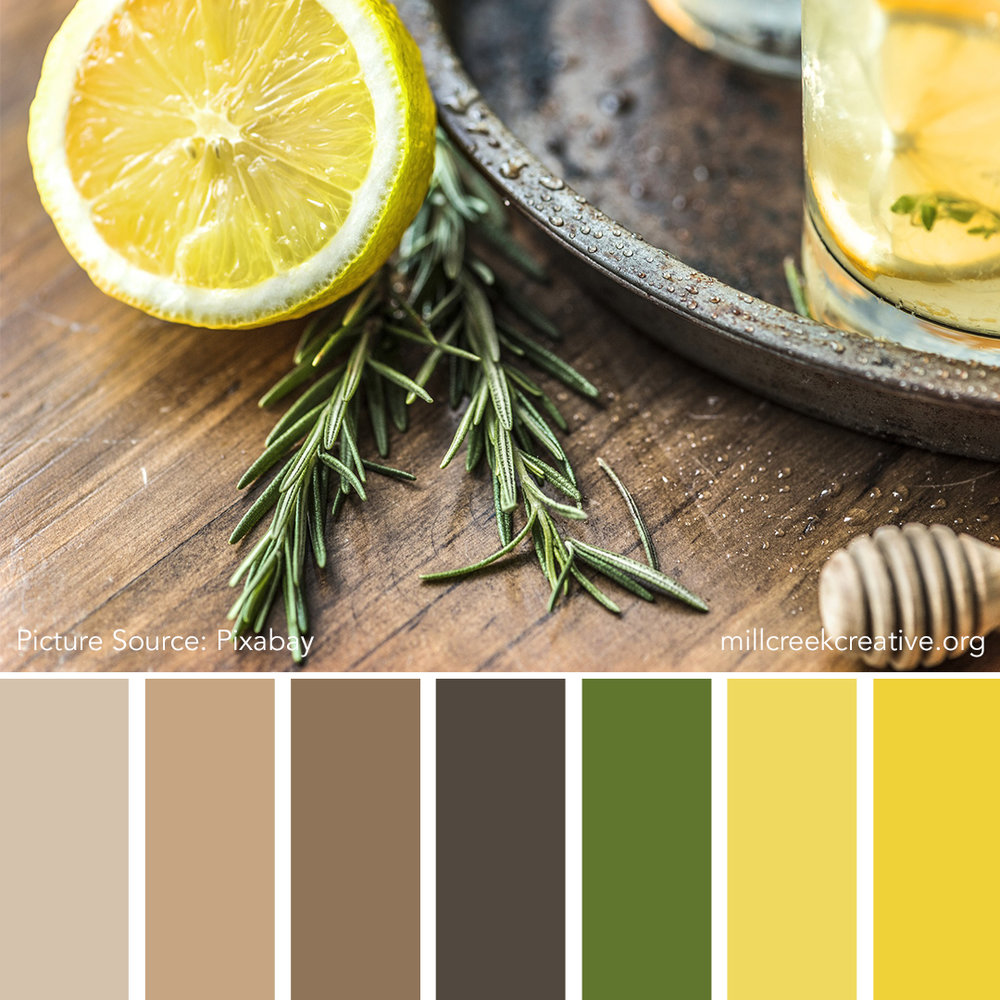 Lemon and Rose-Merry - Spring Color Palettes
