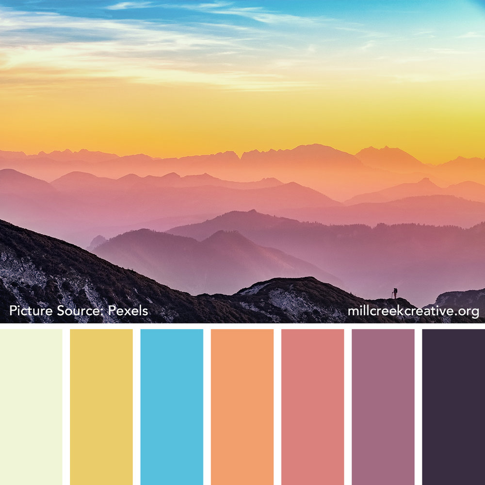 Pastel Dawn - Spring Color Palette