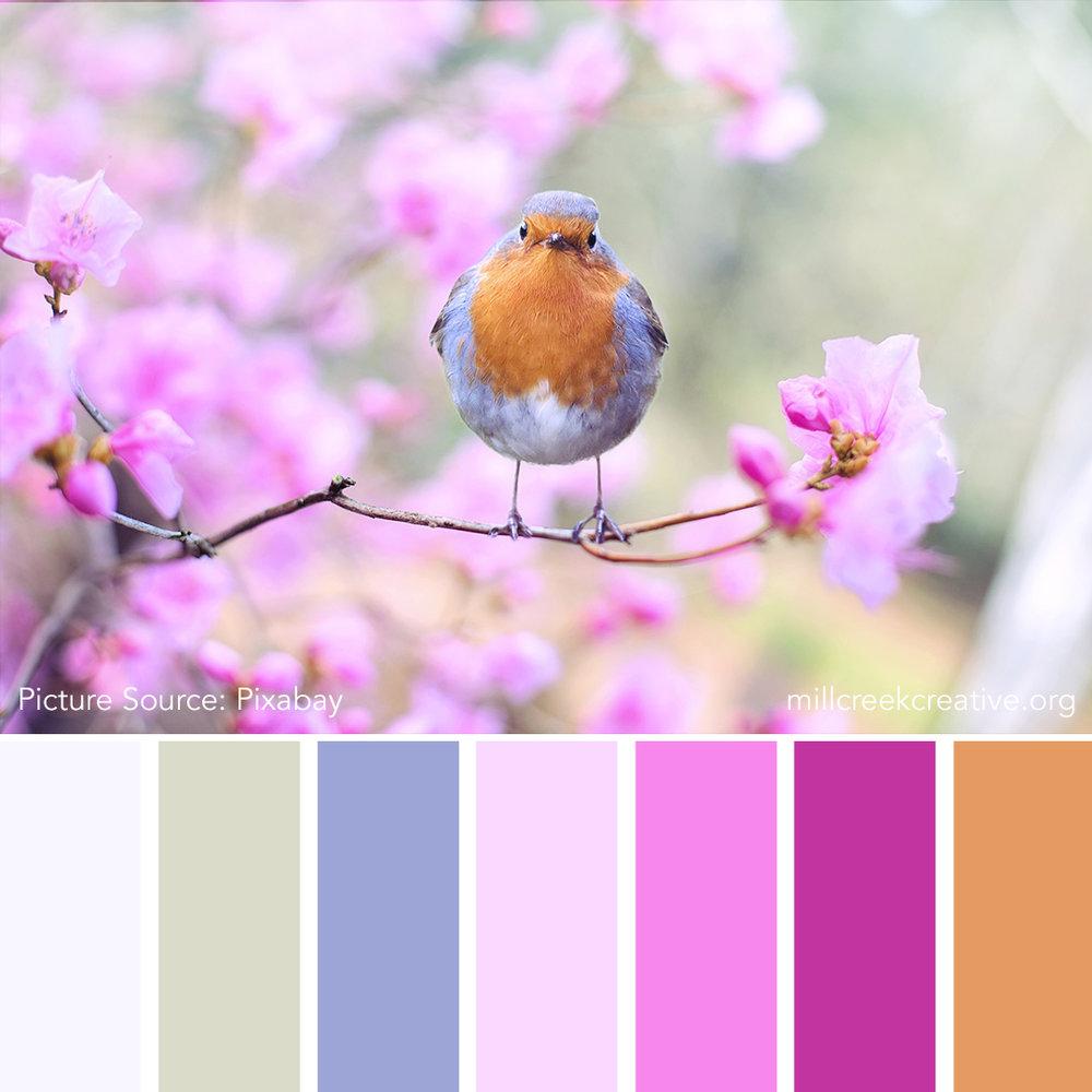 Spring Calling - Spring Color Palette