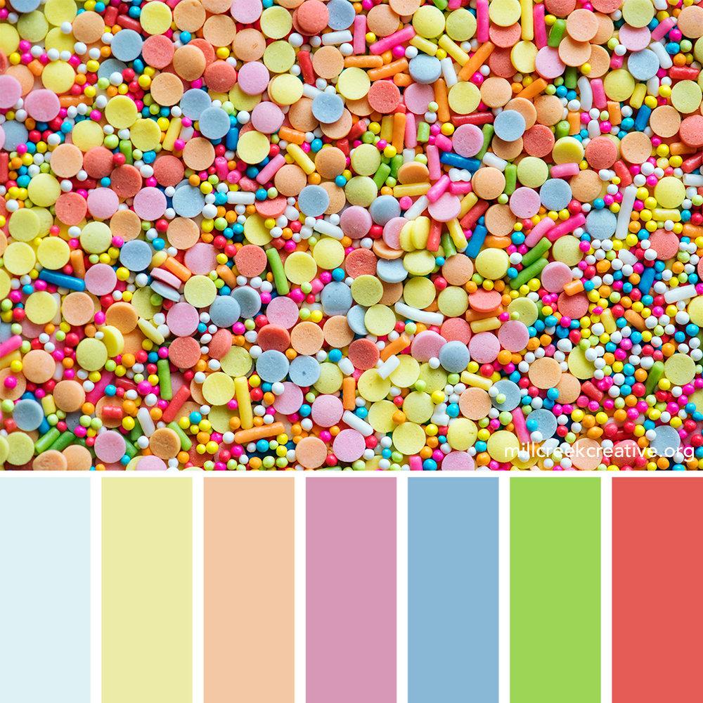Sprinkles - Spring Color Palette
