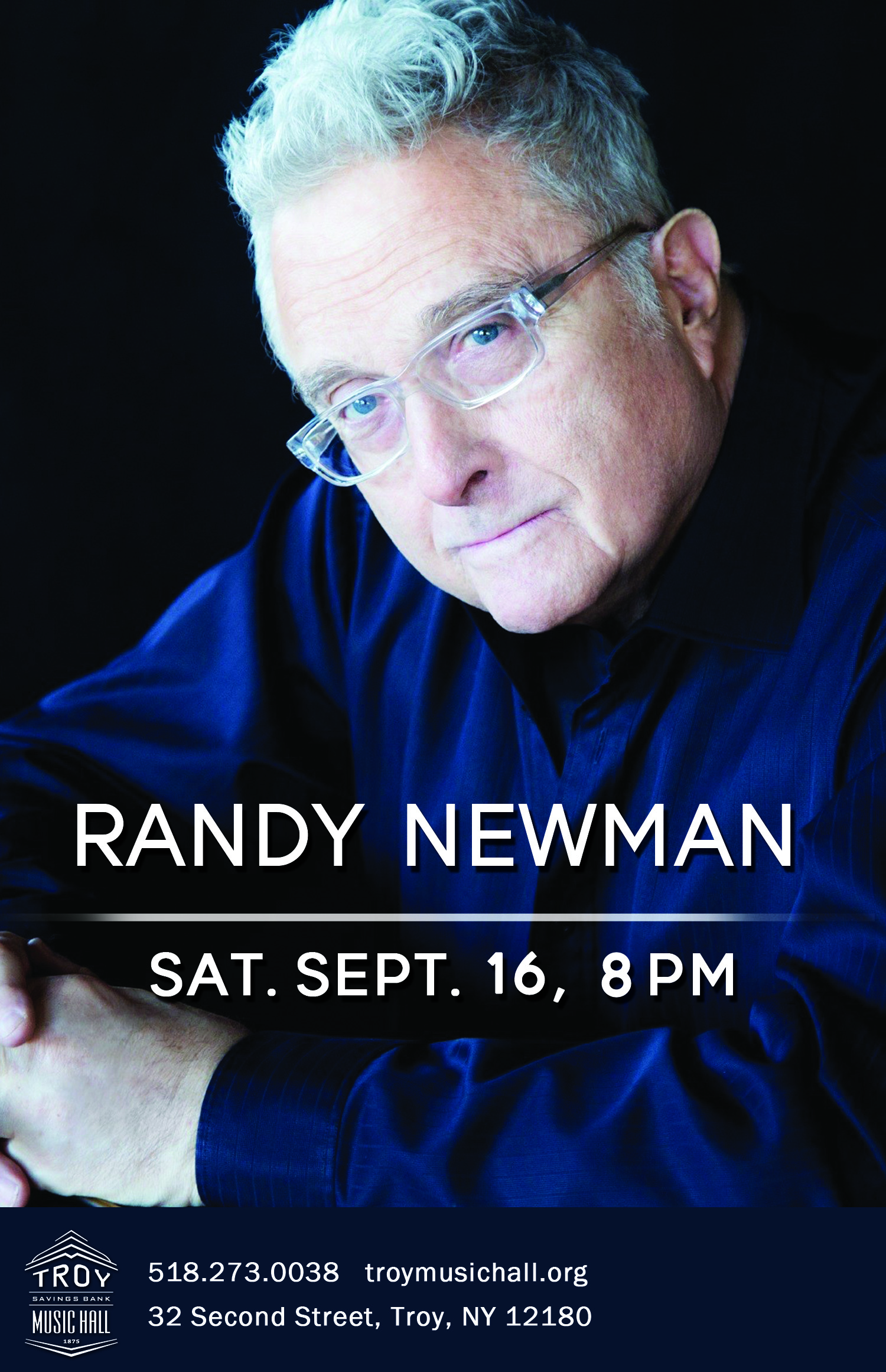 Randy Newmans Unique Defense Of >> Randy Newman Troy Savings Bank Music Hall The Enchanted City