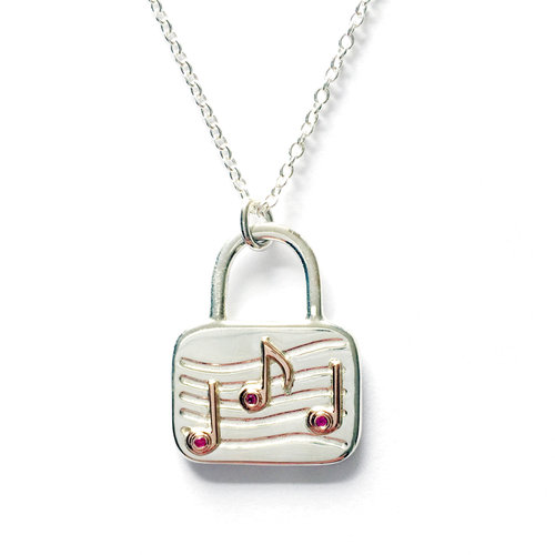 shop sterling products pendant in our lock and necklace silver charm key
