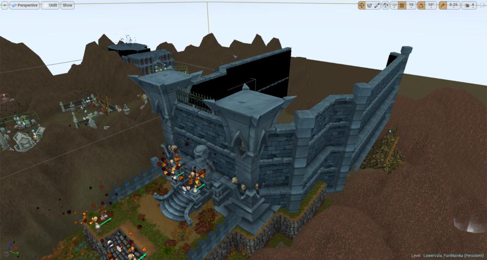Castle Custom Mesh