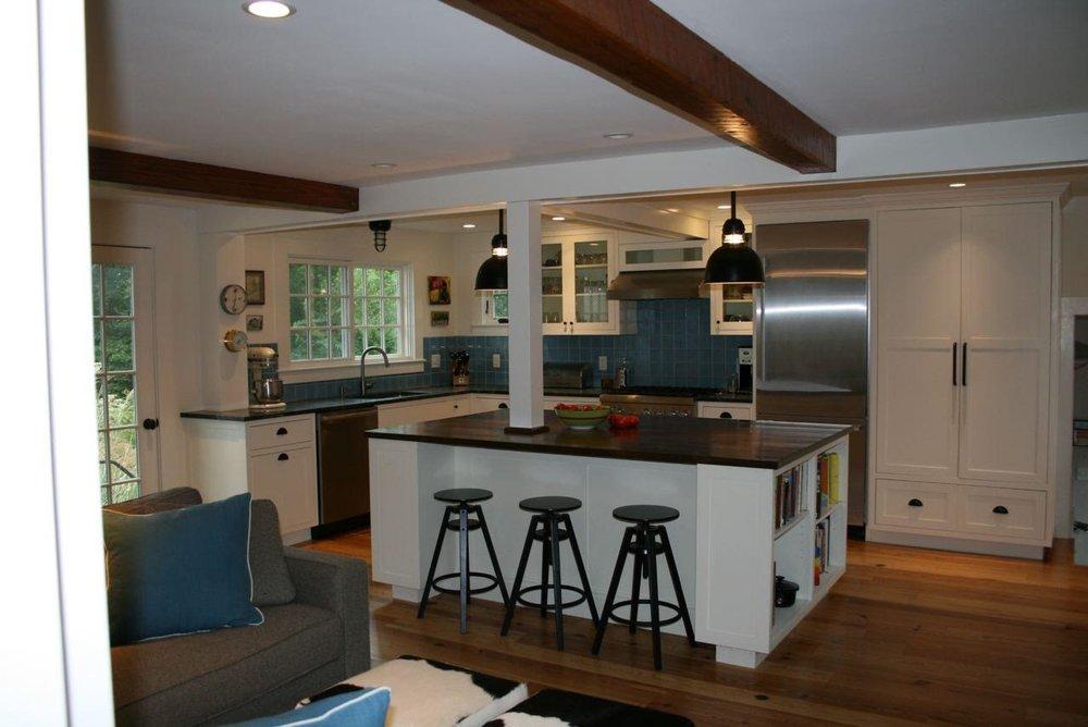 Full kitchen renovation.
