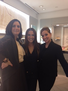 with Marylin and Elizabeth. Guerlain NYC