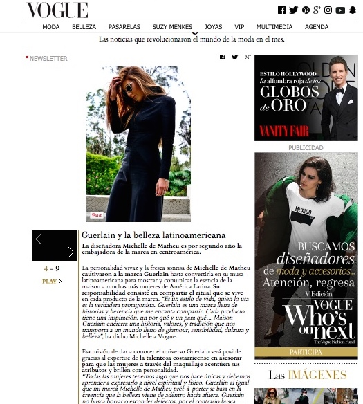 VOGUE MEXICO & LATINOAMERICA