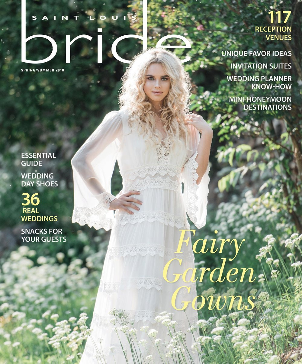 Saint Louis Bride Magazine Spring/Summer 2018  Kite and Butterfly
