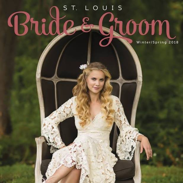 St. Louis Bride and Groom Winter/Spring 2018  Kite and Butterfly