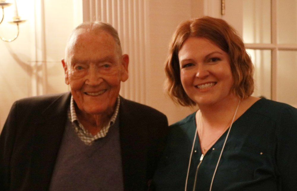 Jack Bogle and Christy Latraille