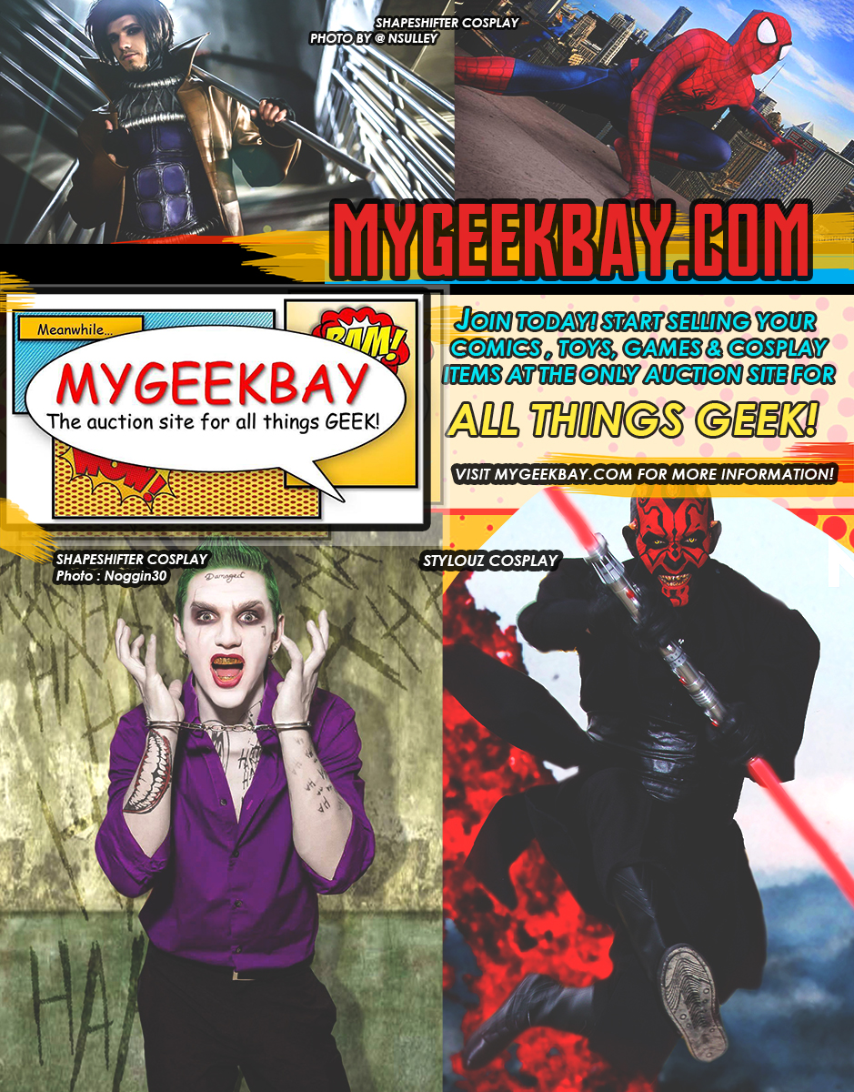 A half page ad we ran in the 4th issue of crm   for  mygeekbay.com