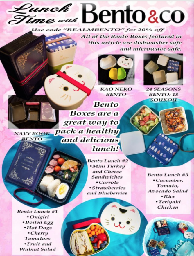 full page ad ran in the 6th issue of crm for bento box & co
