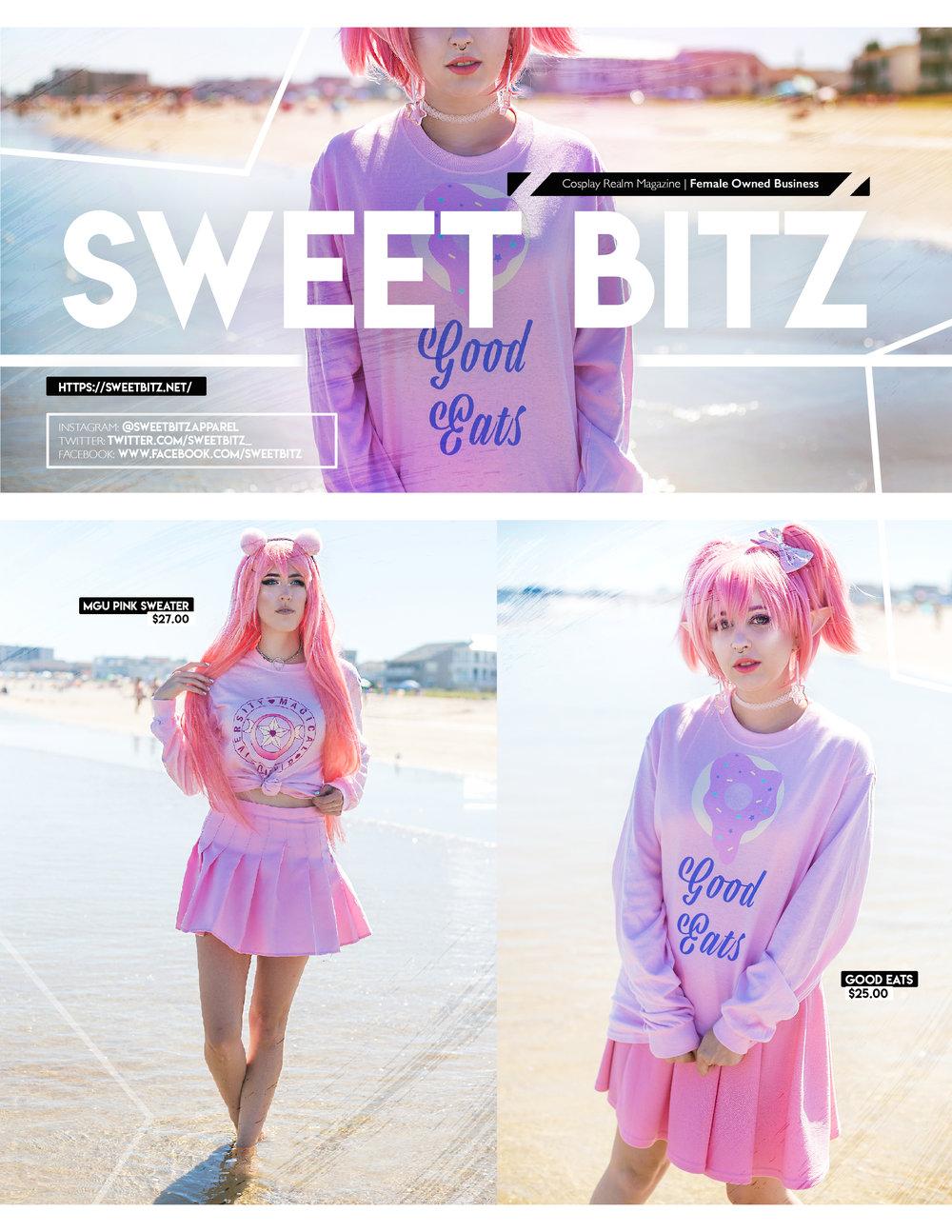 Editorial shot for Sweet Bitz