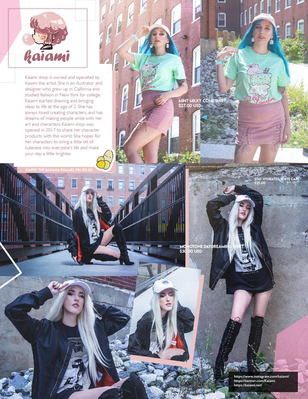Editorial shot for Kaiami