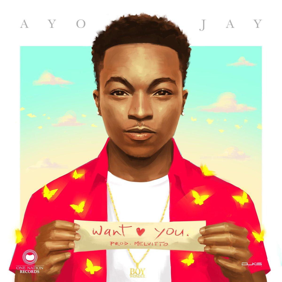 Ayo Jay Drops Want You Lyric Video