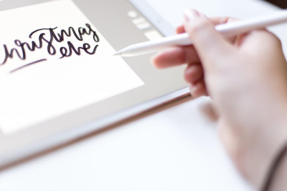 b&w-ipad-lettering-adobe-sketch