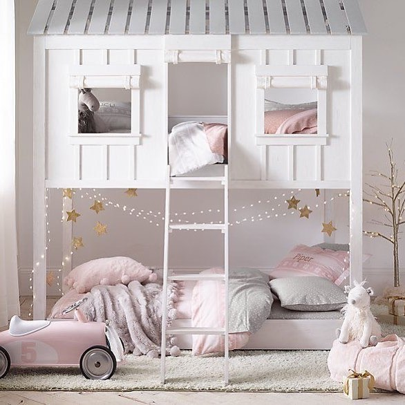 BUNKBEDS - For those who want to have many, many kids (🙋🏻) here's how to fit many kids in one room without compromising style. Introducing - tasteful bunkbeds! 👍🏼
