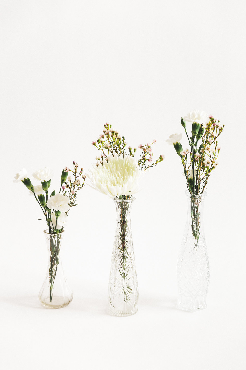 Glass Bud Vase Collection