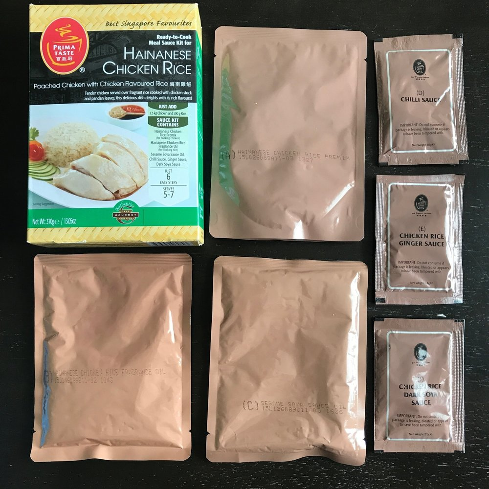 Prima Taste Hainanese Chicken Rice Kit