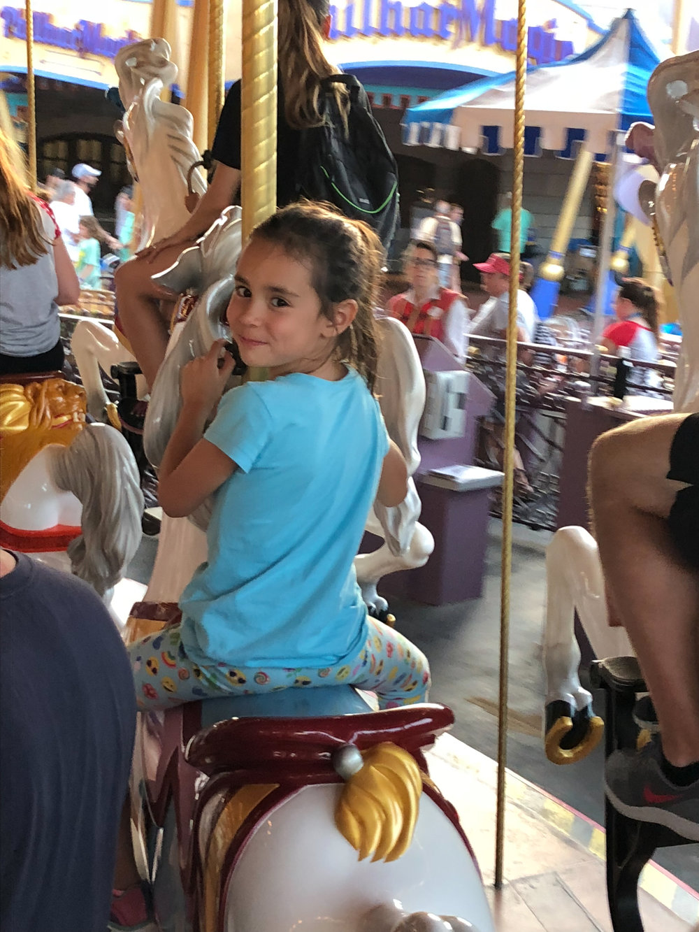 No matter how you plan your Fast Passes for all the latest rides, you can never ride Prince Charming's Carousel too many times.
